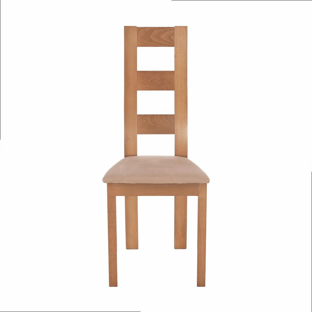 Jídelní židle, světlehnědá/dub medový, FARNA