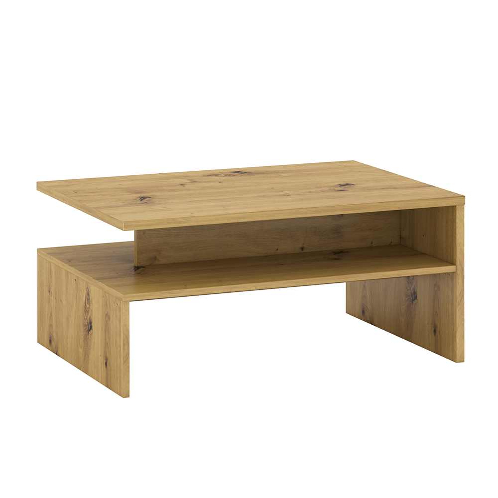 Konferenčný stolík, dub artisan, ERIDAN