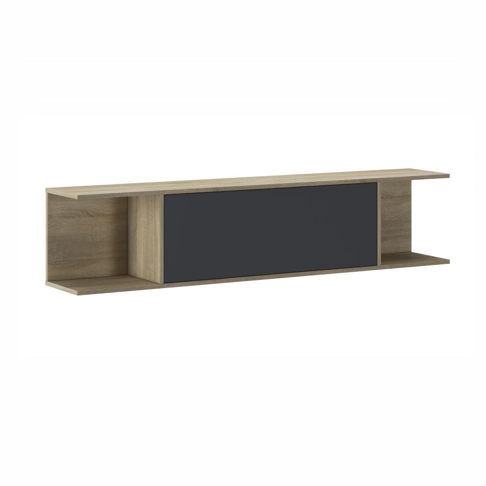 Závěsná skříňka, dub sonoma/šedá, HURON