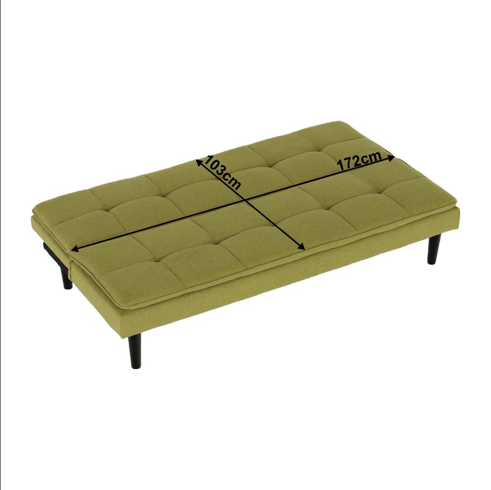 Canapea extensibila Larama Verde