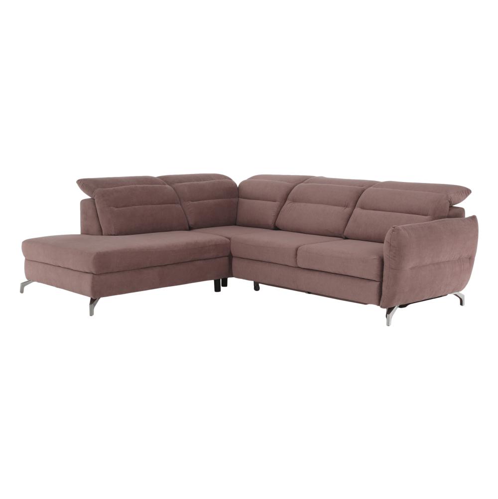 Canapea, roz mov, model stânga, GREG