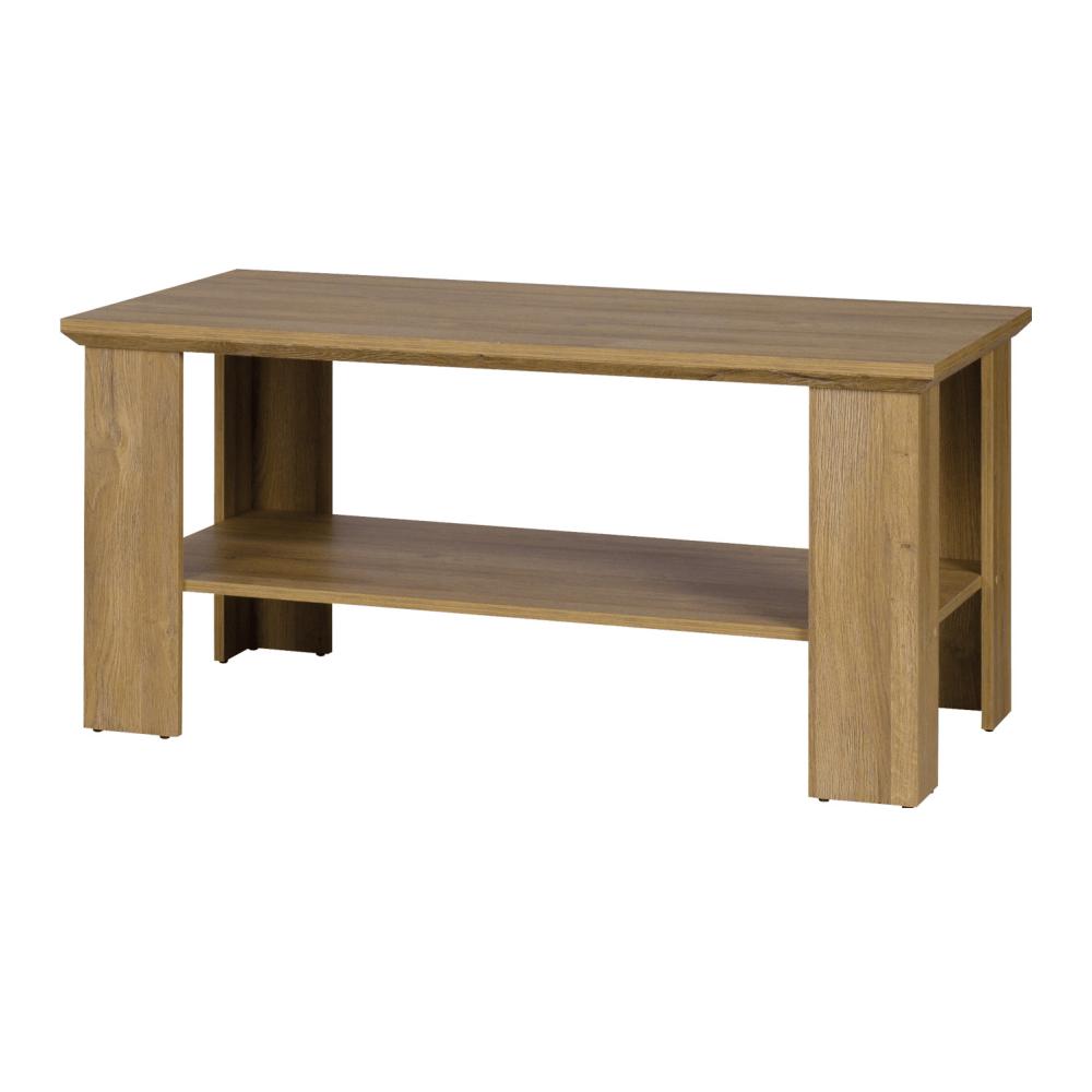 Kisasztal stolík MZ17, grand tölgy, LEON