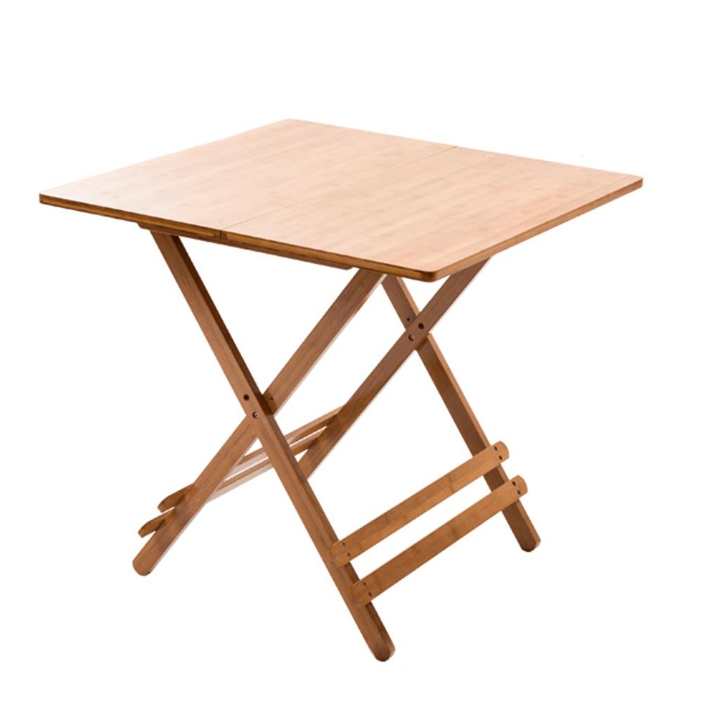 Stôl, prírodný bambus, DENICE