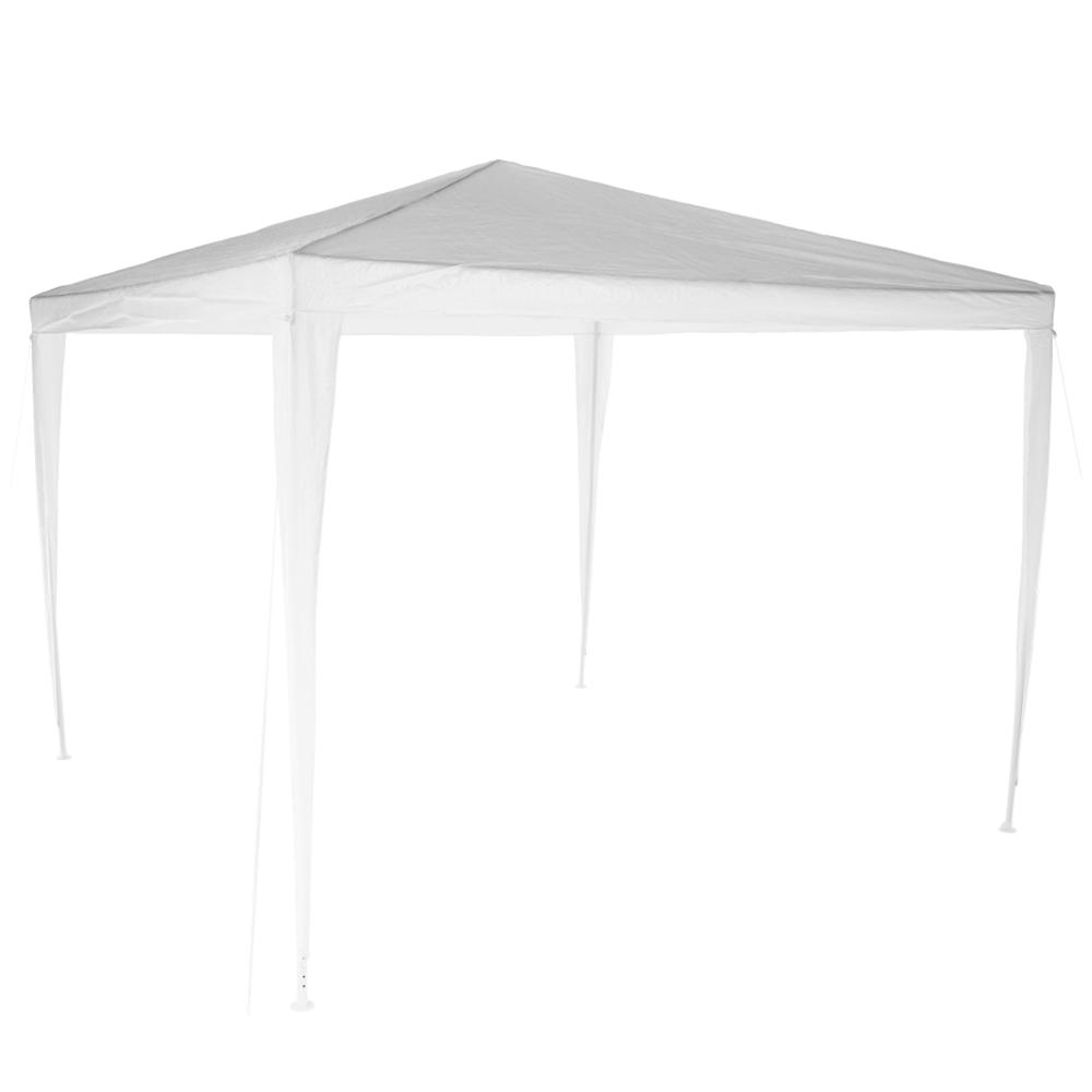 Pavilion grădină/foişor, alb, 3x3 m, GOTAN