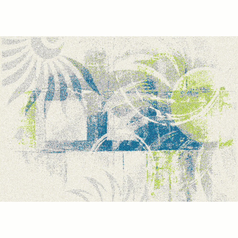 Szőnyeg, sokszínű, 57x90, JUMEO