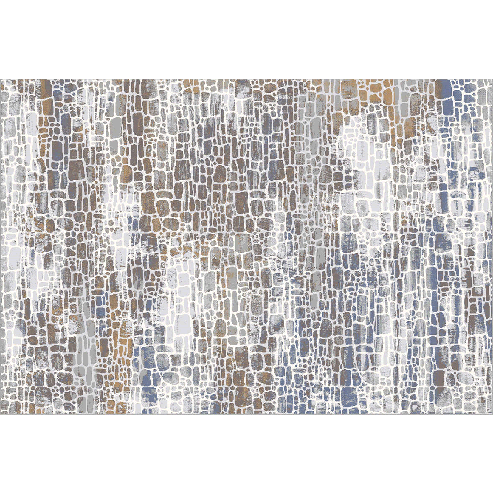 Koberec, viacfarebný, 67x120 cm, MAREO