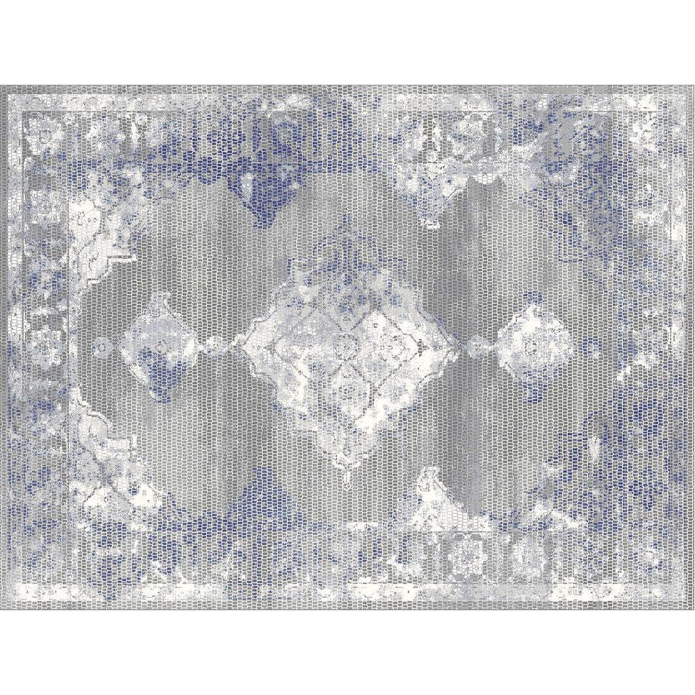 Koberec, viacfarebný, 67x120 cm, AZUMI