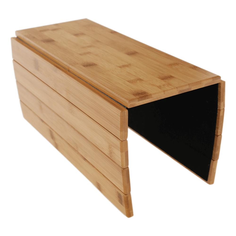 Zonă de depozitare/cotieră flexibilă canapea, bambus, natural, ALTE