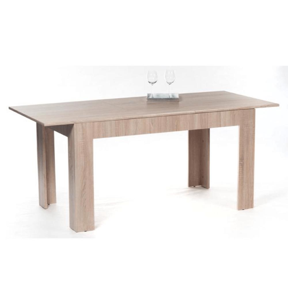 Jídelní stůl, rozkládací, dub sonoma, ADMIRAL