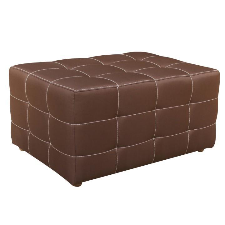 Nagy puff,csokoládé textil Nemo 05, KAZARA