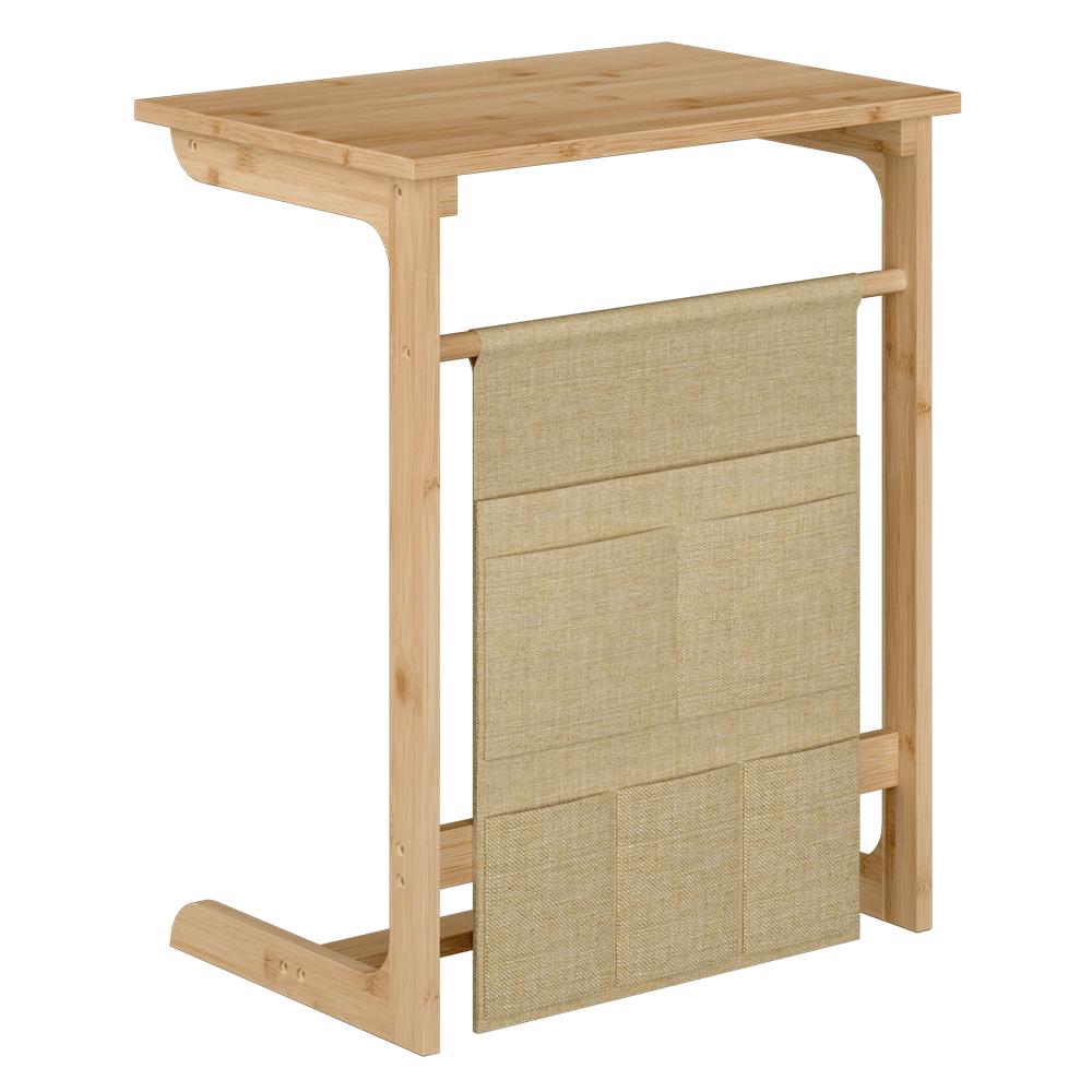 Príručný stolík, prírodná/svetlohnedá, SONATE