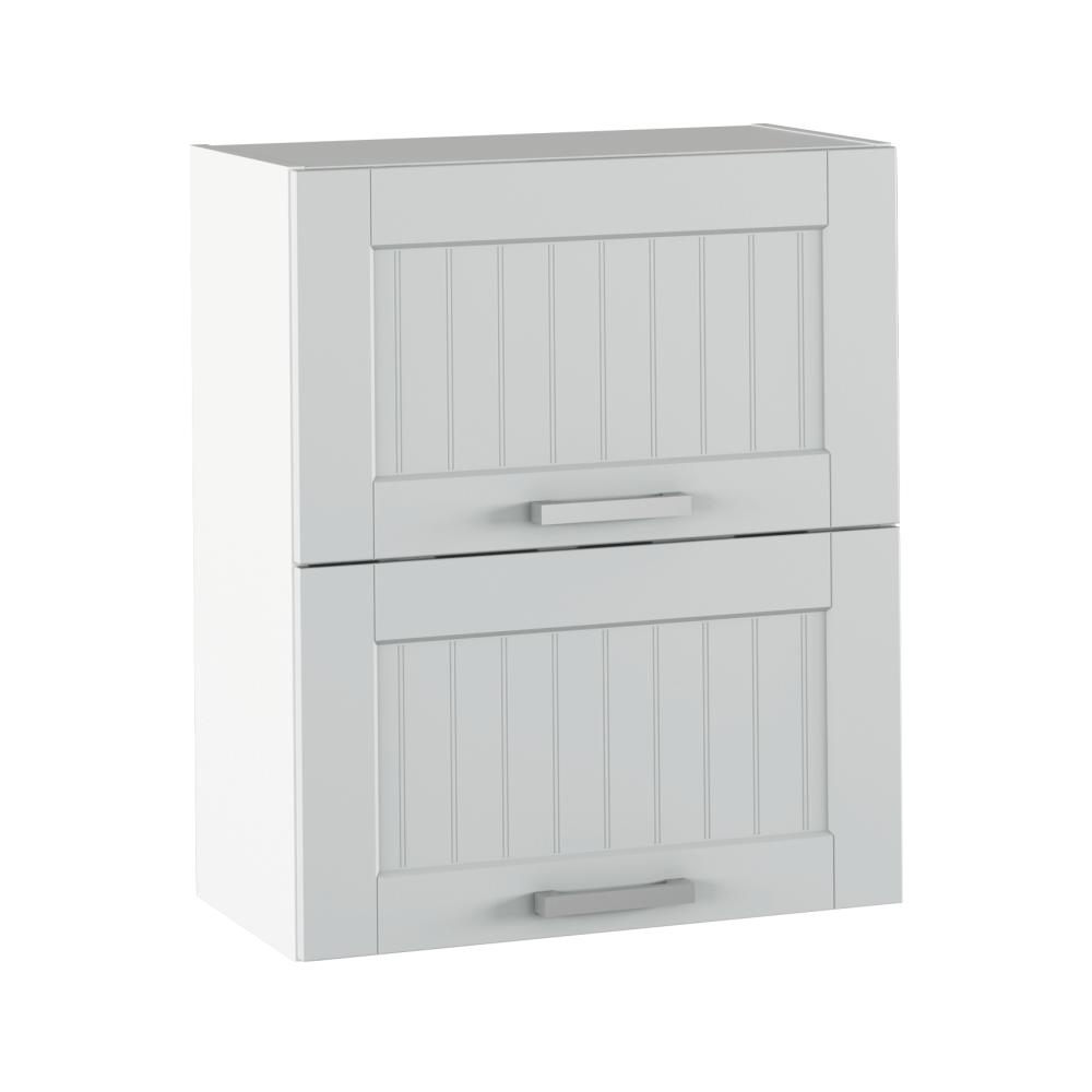 Felső szekrény, világosszürke/fehér, JULIA TYP 7