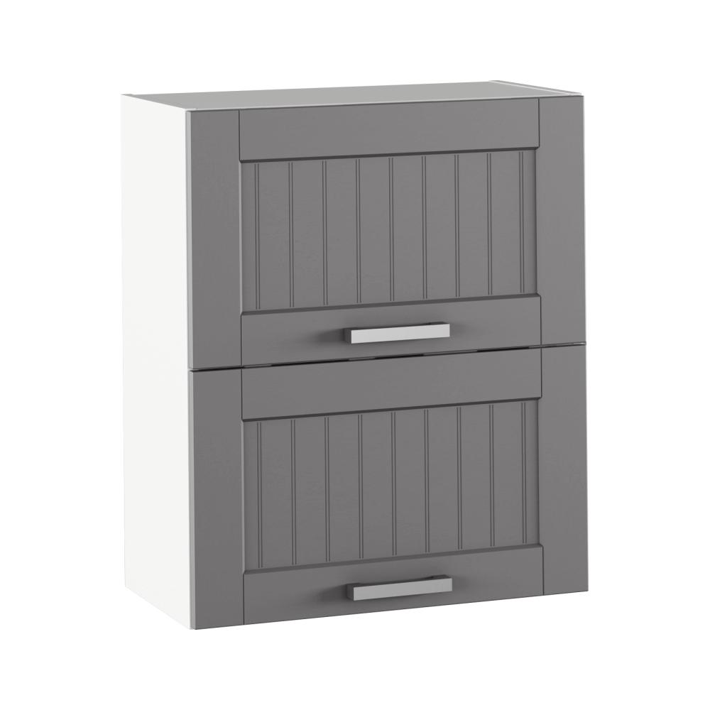 Horní skříňka, tmavě šedá/bílá, JULIA TYP 7