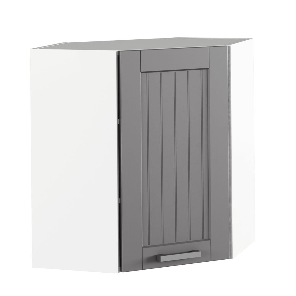 Felső szekrény, sötétszürke/fehér, JULIA TYP 10