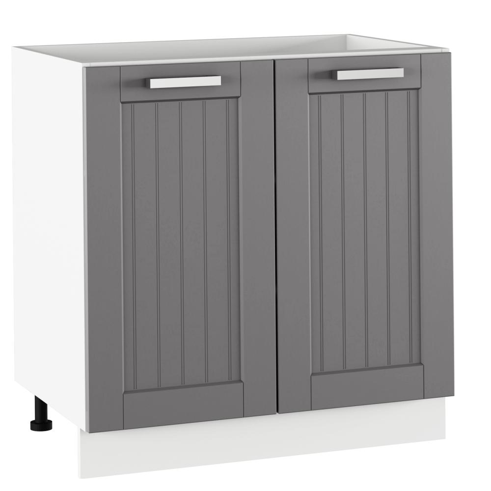 Spodní skříňka, tmavě šedá/bílá, JULIA TYP 60