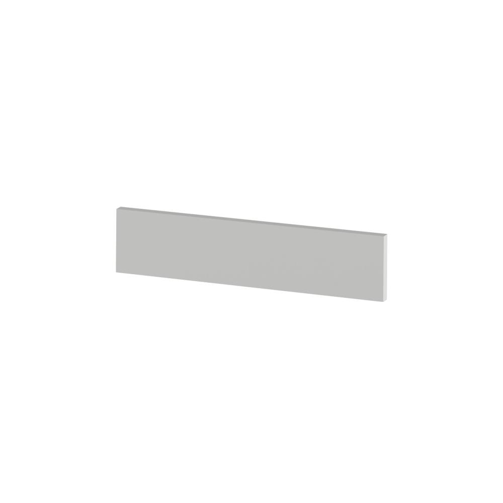 Koncový bočný sokel na nízke skrinky, biela, JULIA TYP 91