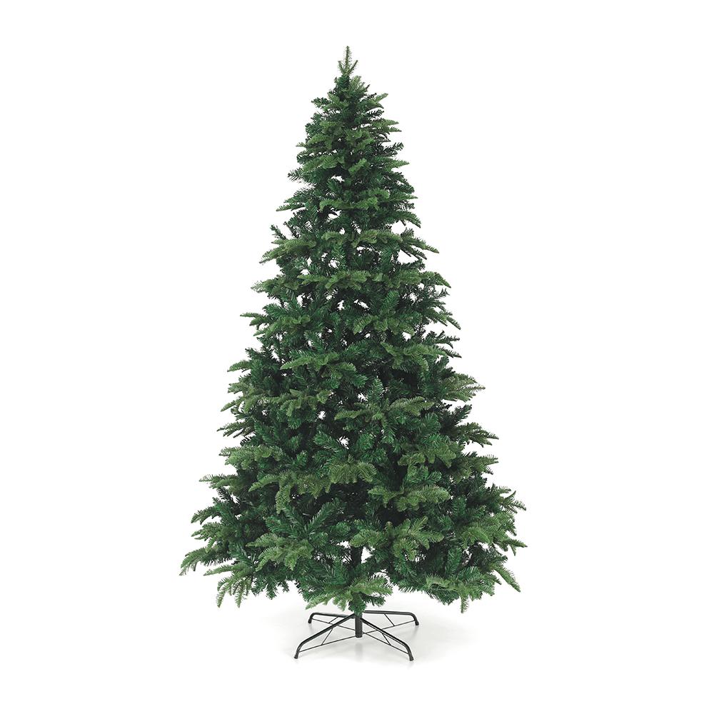 3D karácsonyfa, zöld, 220cm, CHRISTMAS TYP 3