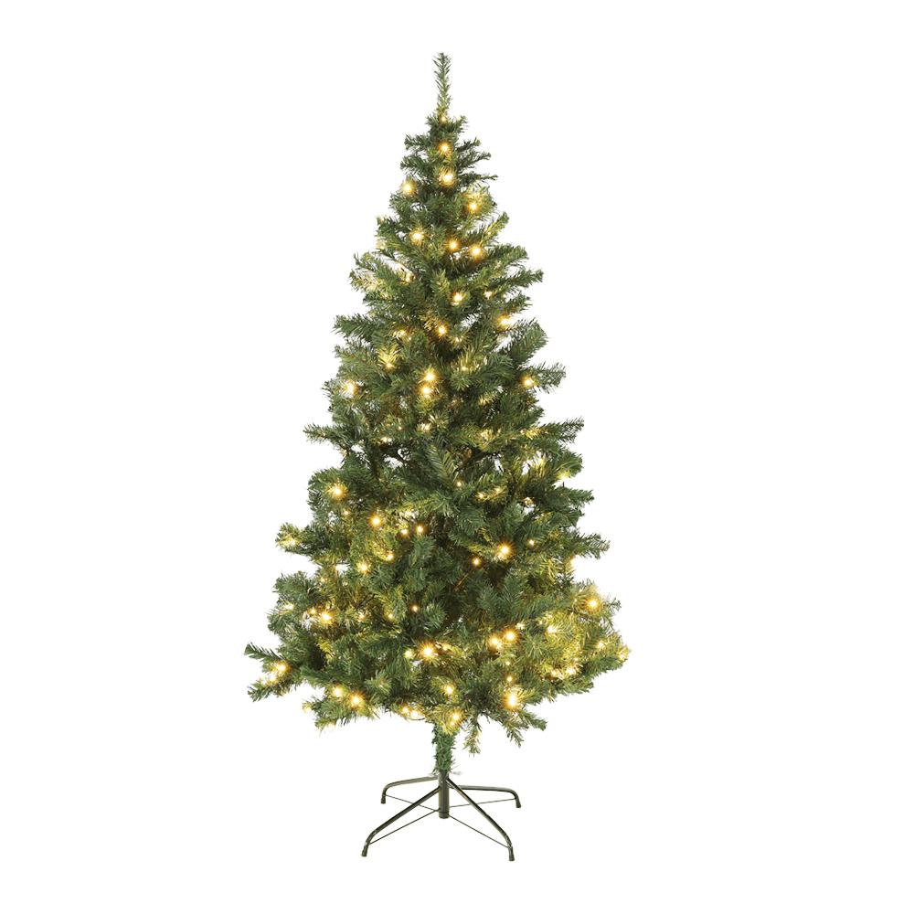 Brad cu lumini, verde, 180 cm, LED450, CHRISTMAS TIP 5