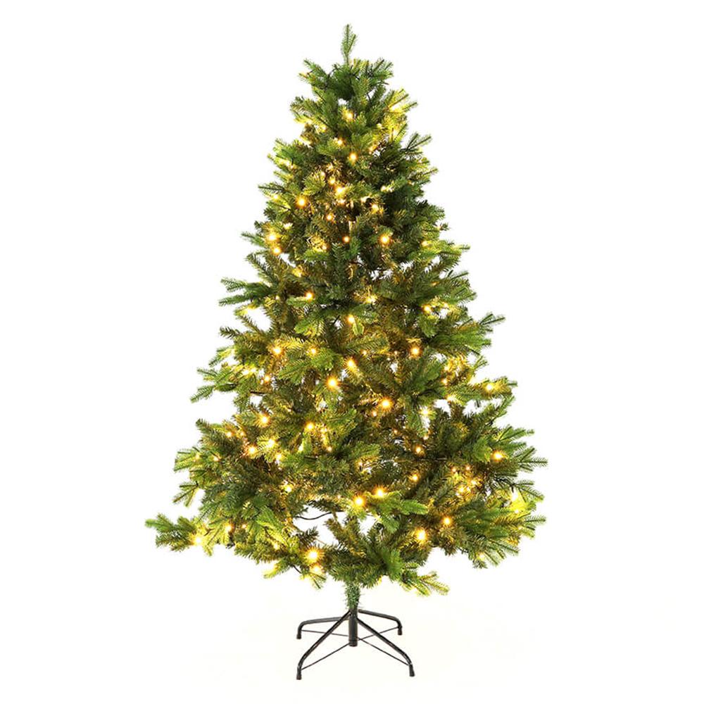 3D karácsonyfa fényekkel, zöld, 180cm, LED300, CHRISTMAS TYP 6