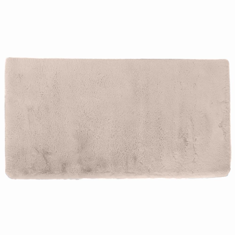 Luxus shaggy szőnyeg, bézs, 80x150, KAMALA LUX