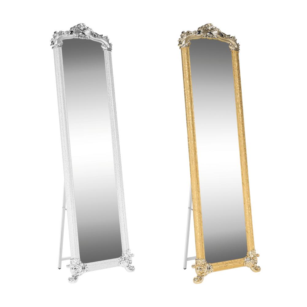 Stojanové zrcadlo, zlatá, ODINE