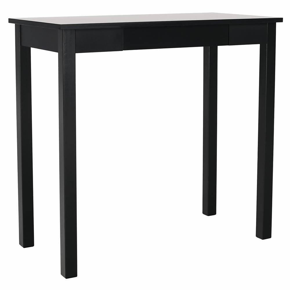 Konzolový stolík, čierna, AMYNTAS