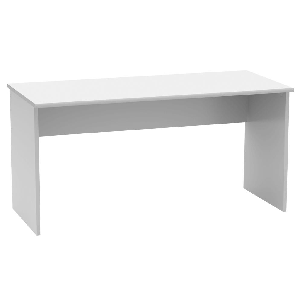 Íróasztal, fehér, JOHAN 2 NEW 01