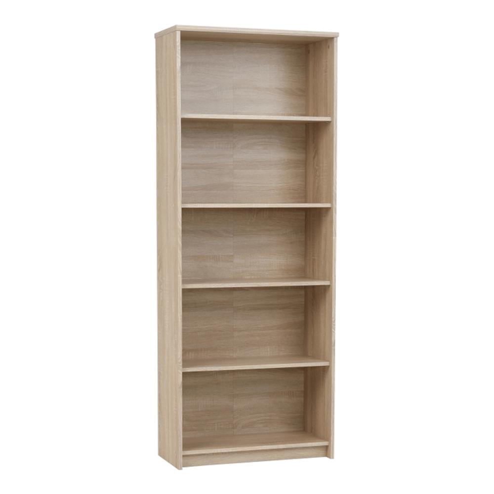 Nyitott polcos szekrény, sonoma tölgyfa, JOHAN 2 NEW 04