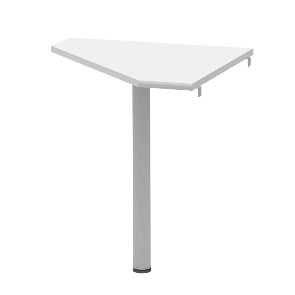 Pc sarok asztal, féher, JOHAN 2 NEW 06