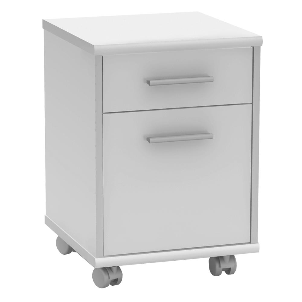 Kancelářský kontejner, bílá, JOHAN 2 NEW 07, TEMPO KONDELA