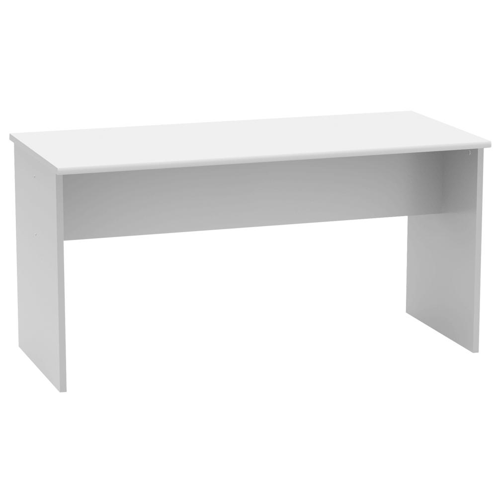 Kancelářský stůl, oboustranný, bílá, JOHAN 2 NEW 08, TEMPO KONDELA