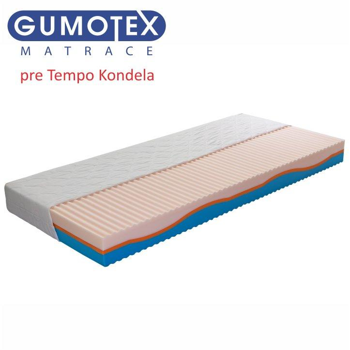 Matrac, gumotex, 200x90x18, ERIN