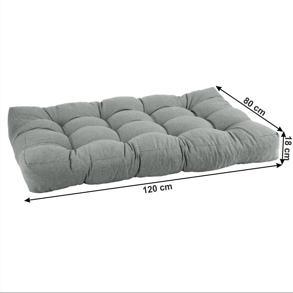 Polštář na paletové sezení, neomint, ANIKA TYP 1