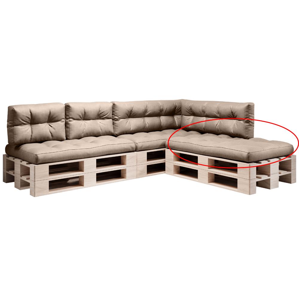 Pernă pentru mobilier din paleţi, maro, ANIKA TYP 1