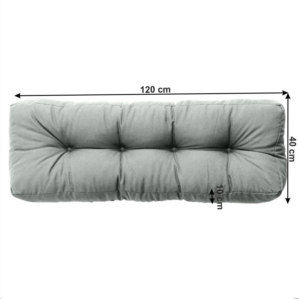 Polštář na paletové sezení, neomint, ANIKA TYP 2