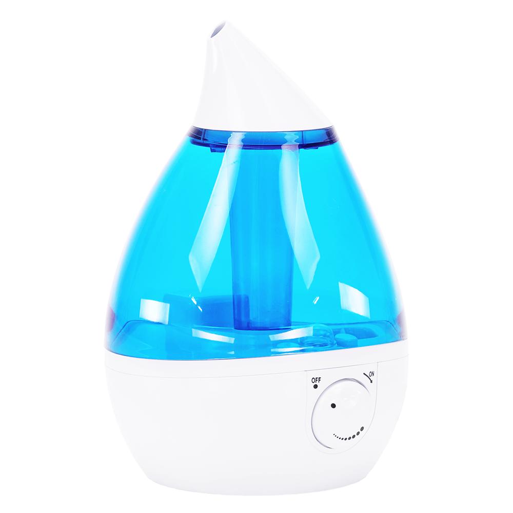 Umidificator / difuzor cu ultrasunete, albastru / alb, SAXO