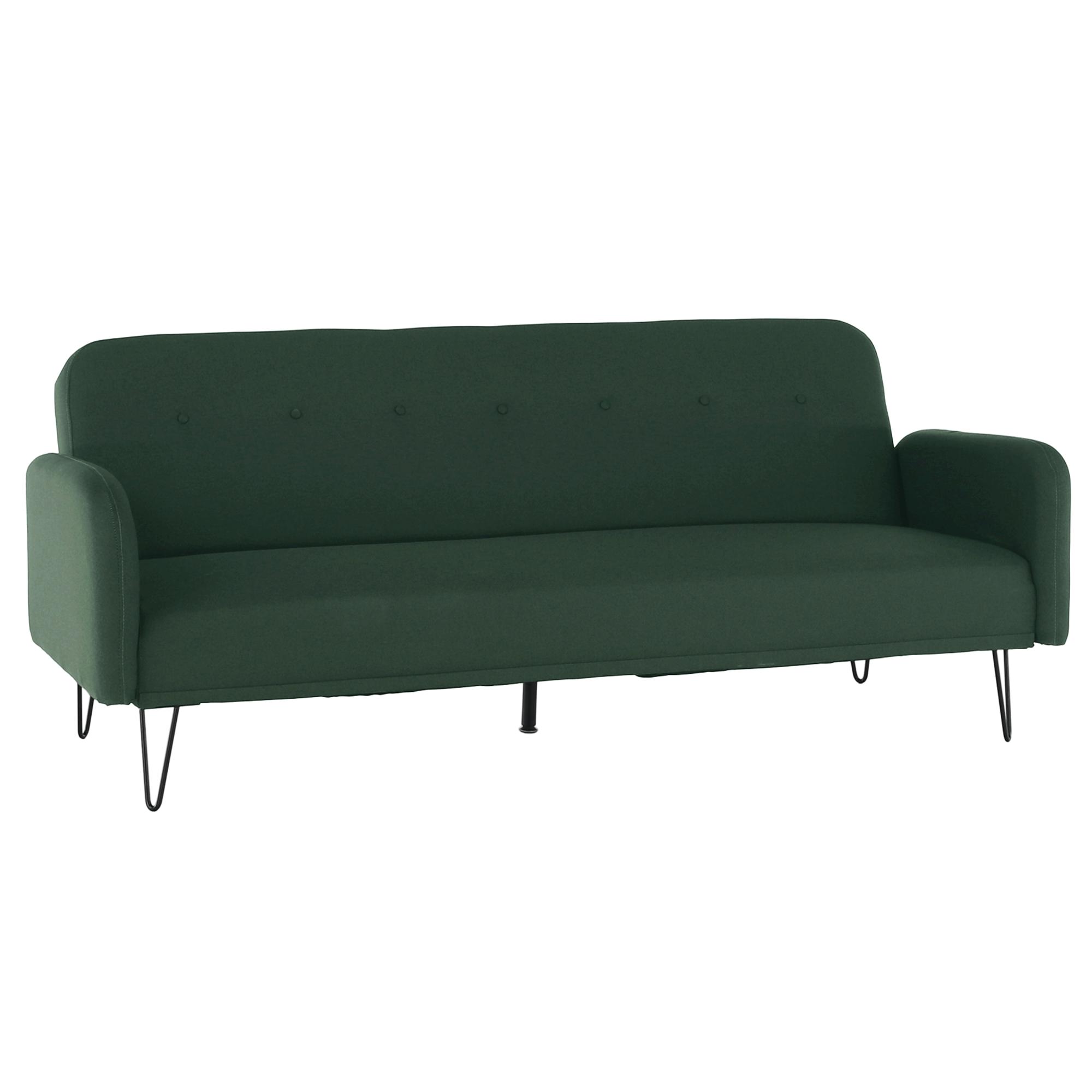 Canapea extensibilă, verde, PULSA