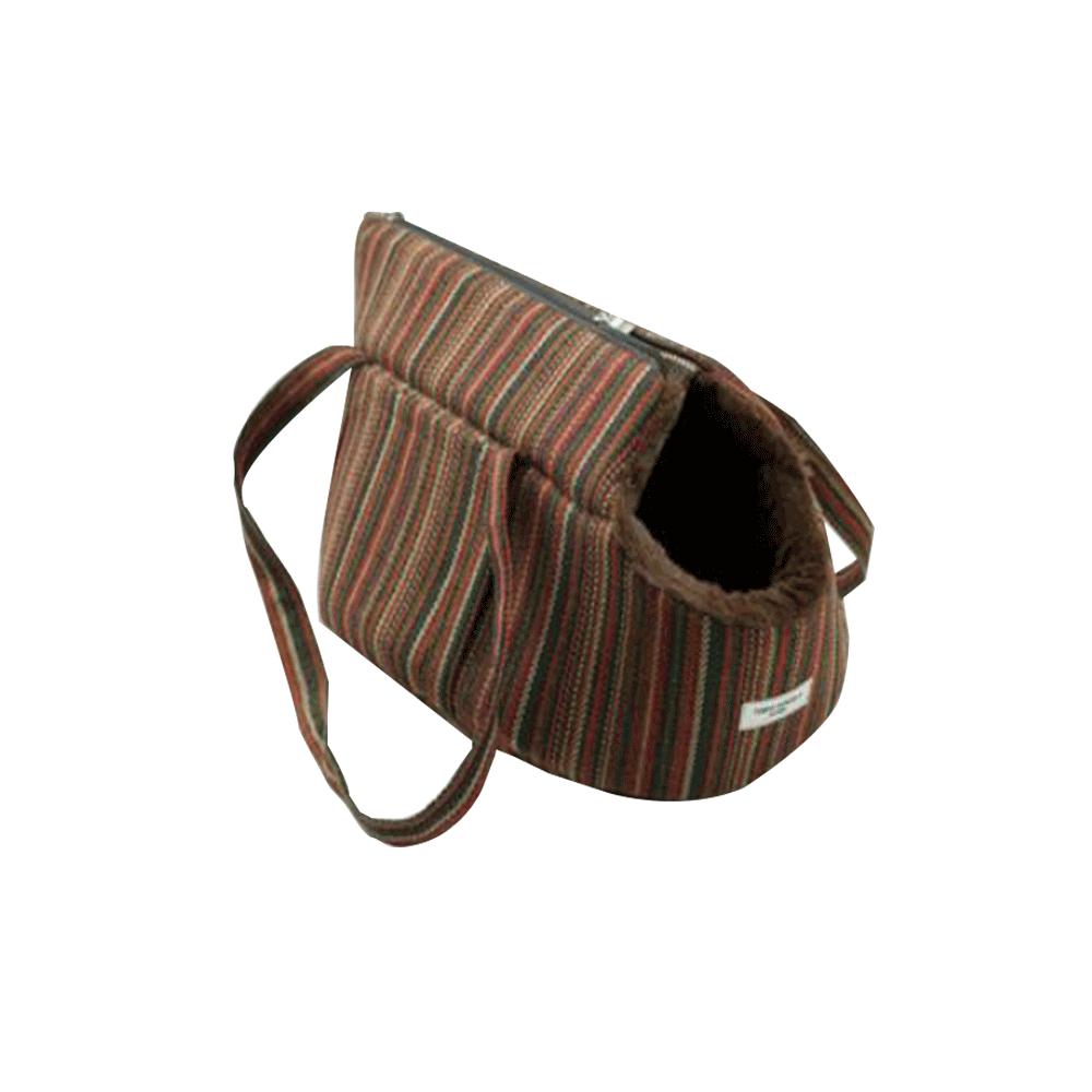 Taška pro psa, malá, vzor pásek, 40x30x30cm, Manik TYP1