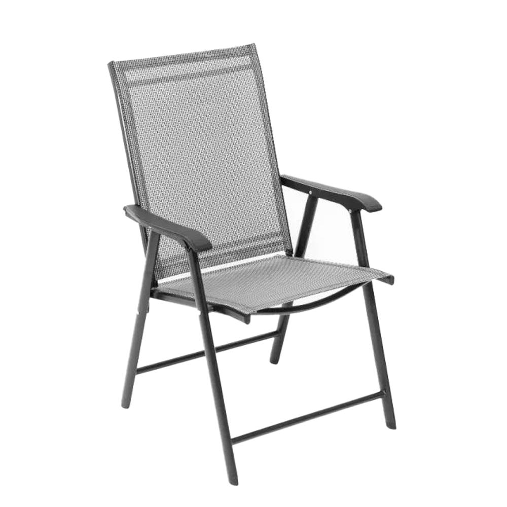 Összecsukható kerti szék, szürke, Adola