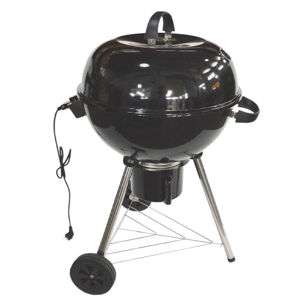 Elektromos grillsütő, fekete, ROLEN