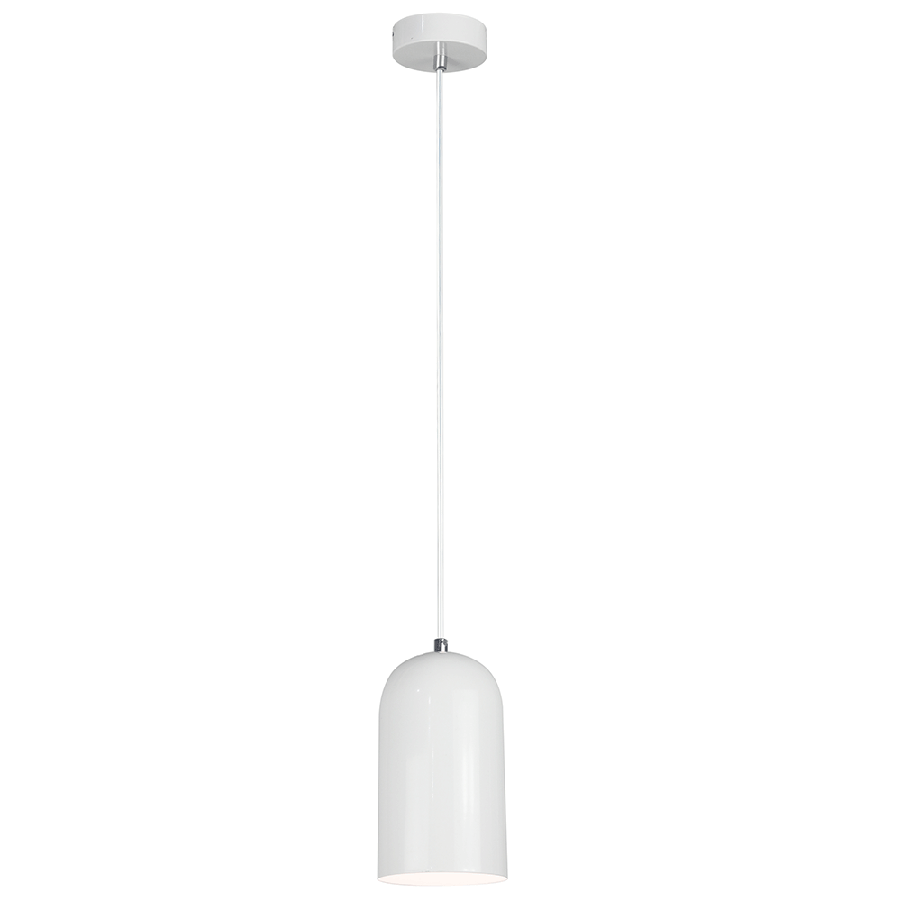 Lampă suspendată, albă, LUKEN