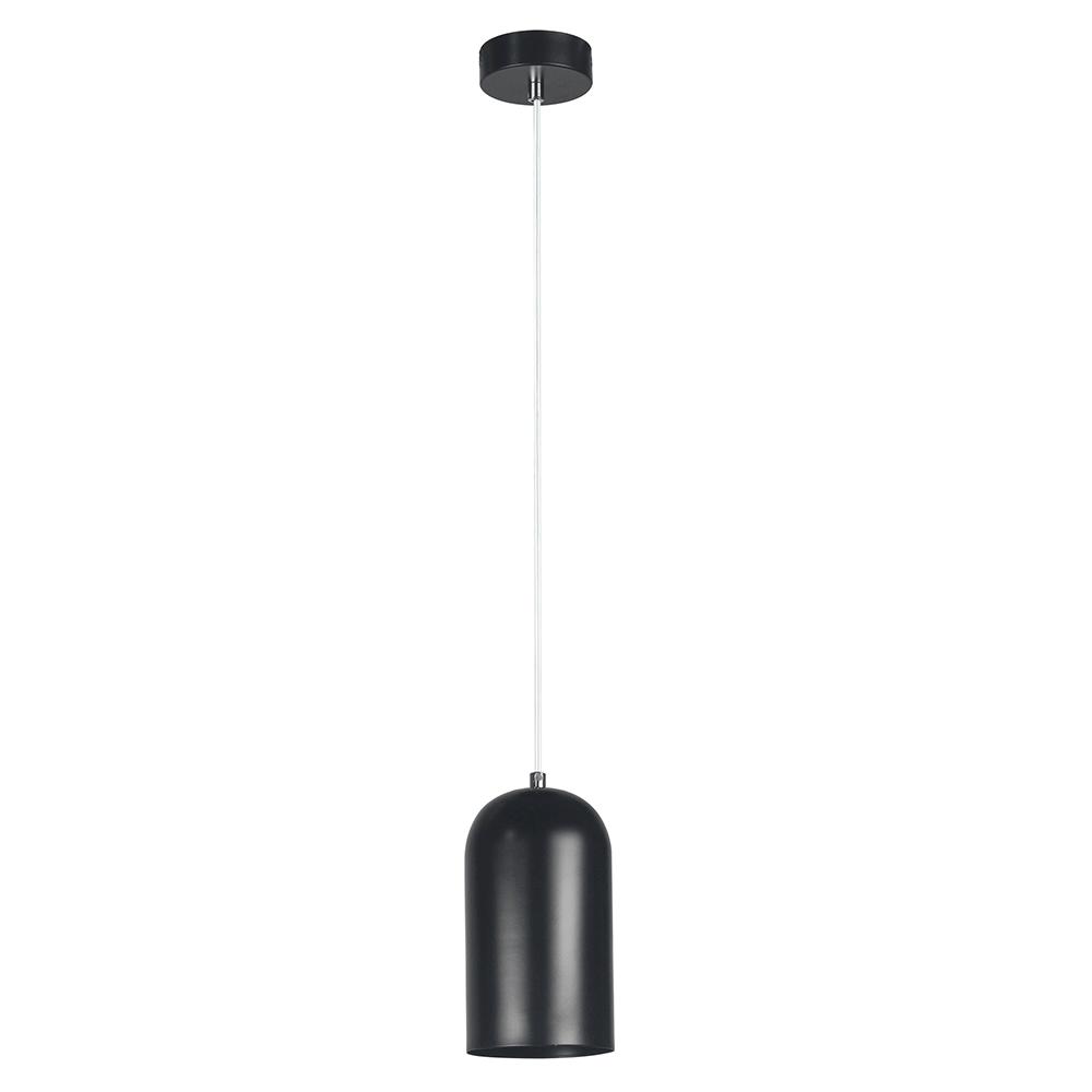 Visící lampa, černá, Luken, TEMPO KONDELA