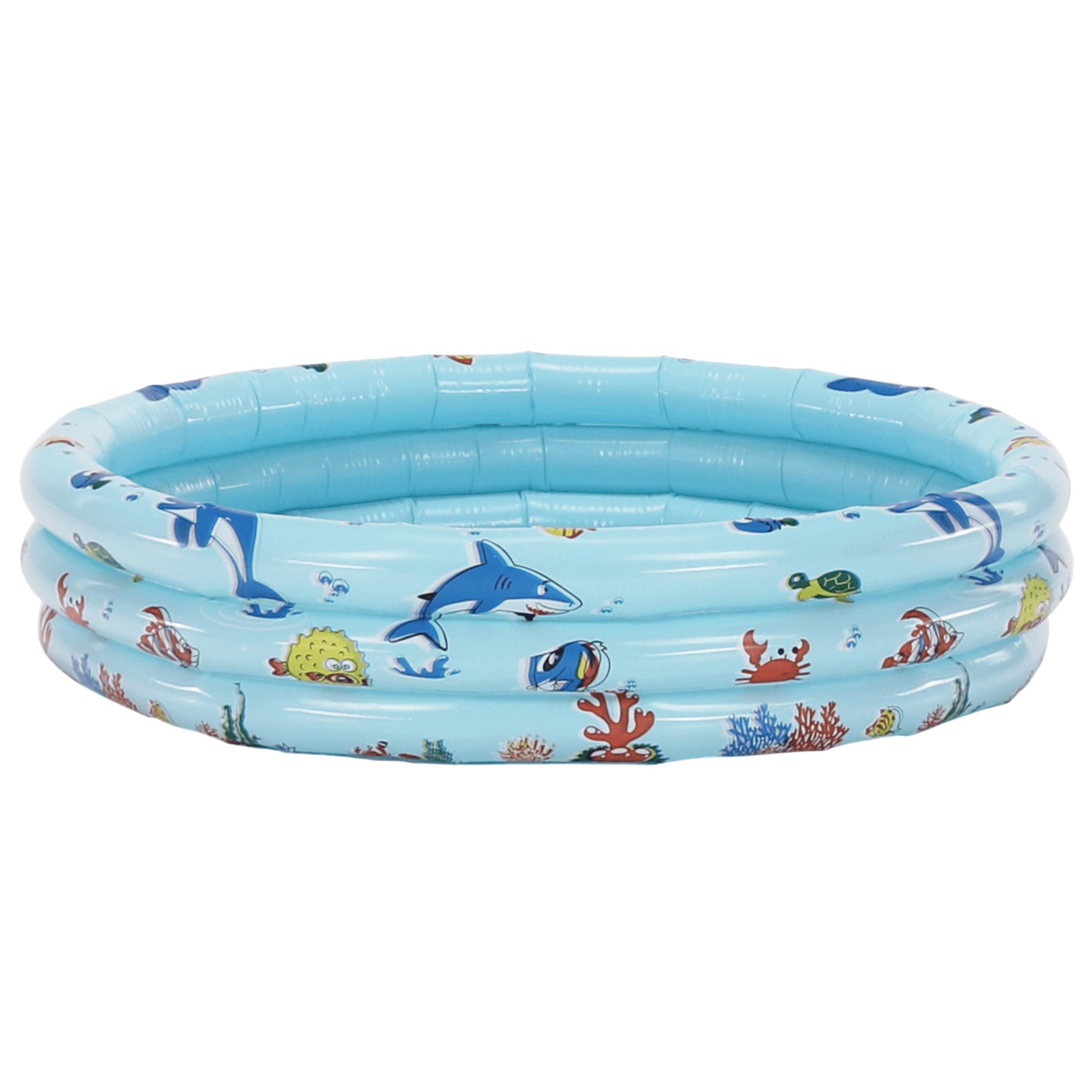 Bazin gonflabil pentru copii, albastru / model, LOME