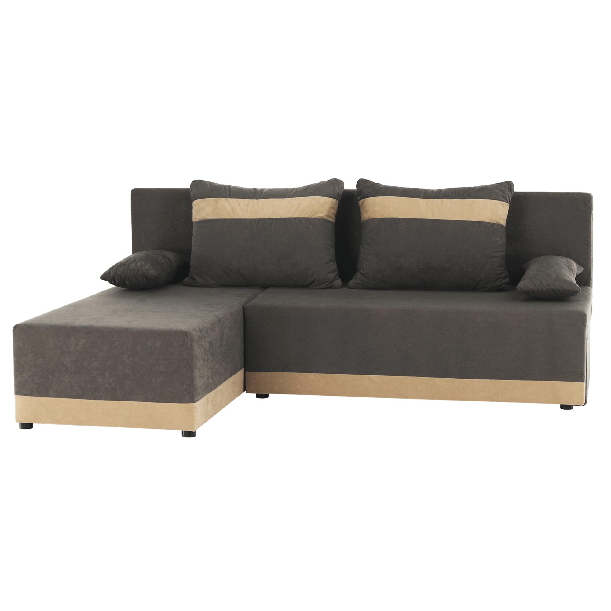 Univerzális ülőgarnitúra, szürke/bézs, ROMAND