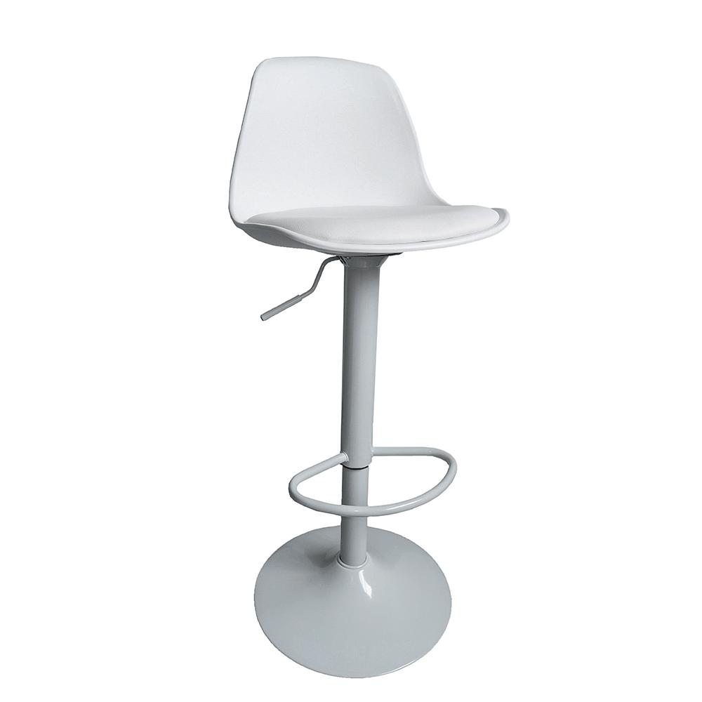 Barová stolička, biela, DOBBY