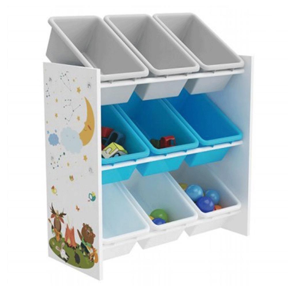 Organizator / raft pentru jucării, multicolor / model, DARLING TIP 3