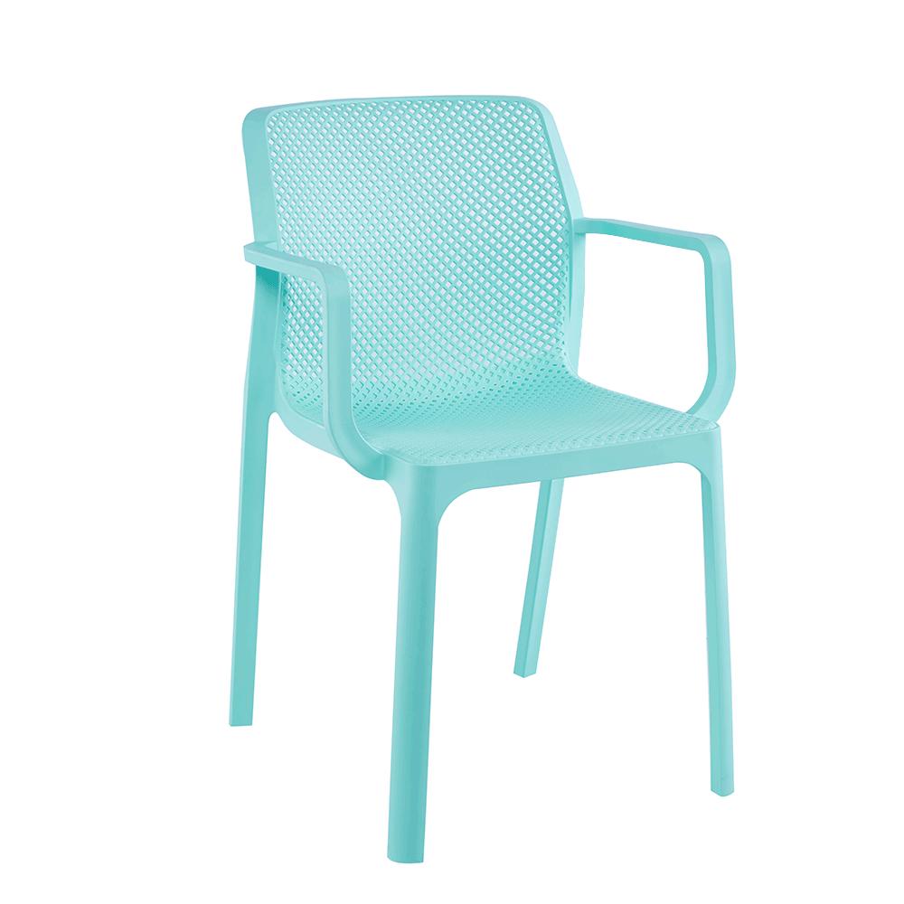 Rakásolható szék, mentol/műanyag, FRENIA