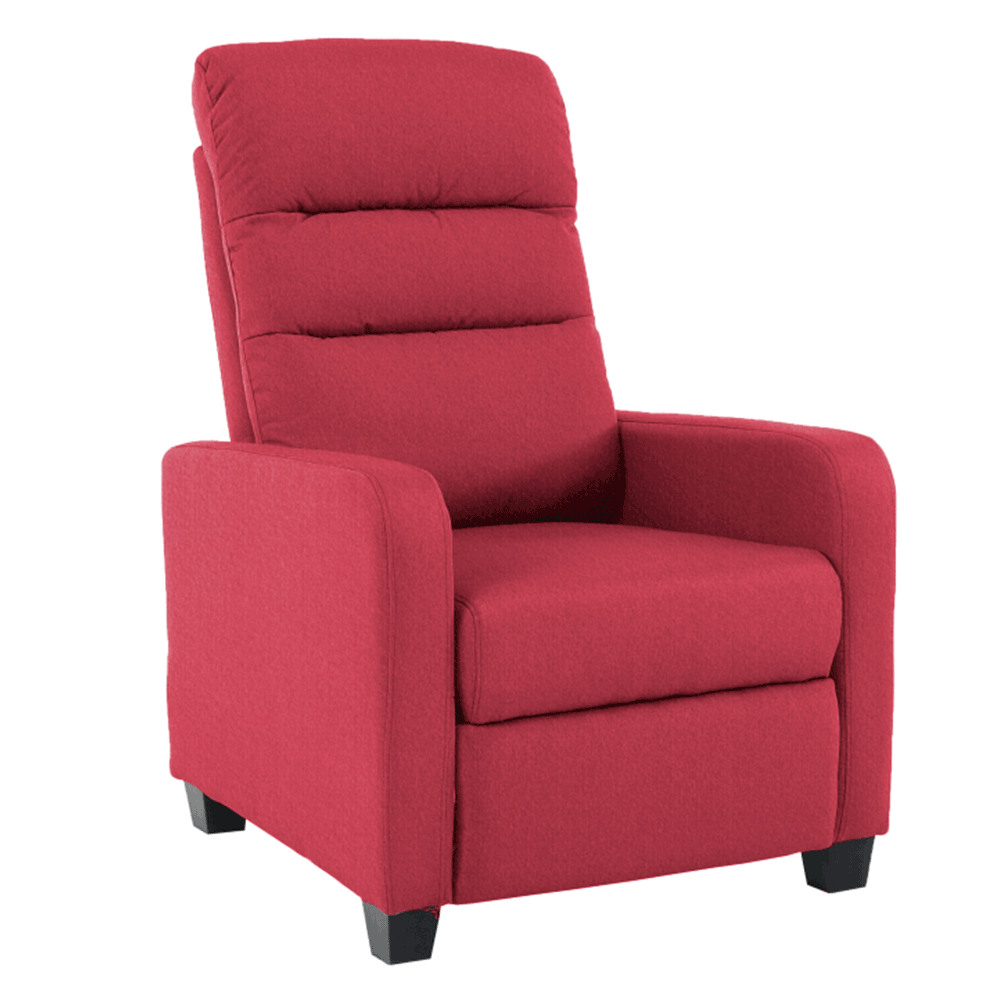 Relaxáló fotel, málna, TURNER