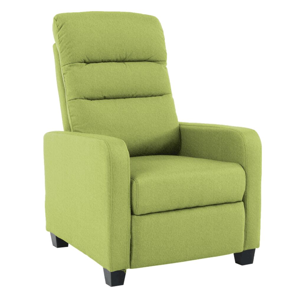 Relaxačné kreslo, zelená, TURNER