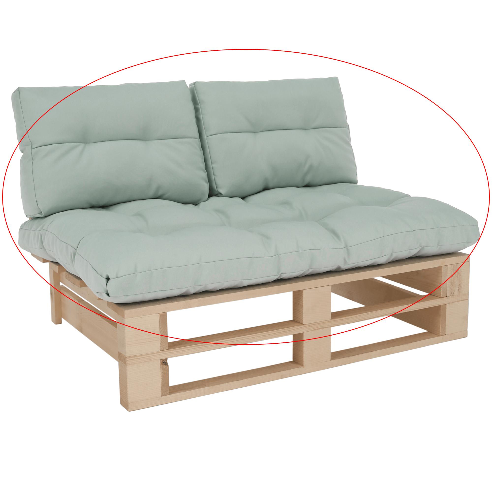 Perne pentru mobilier din paleţi, mentol, ARYO